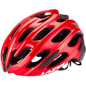 Lazer Blade+ Kask rowerowy, czerwony/czarny
